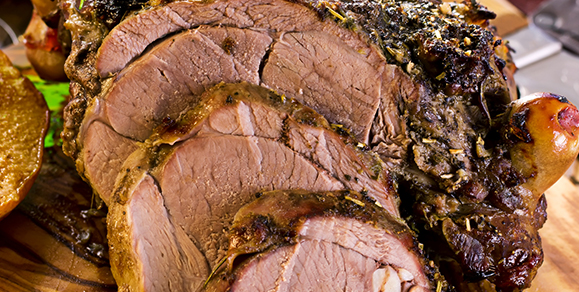 Dairygold & Herb Crusted Luscious Leg of Lamb