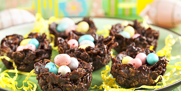 Chocolate Egg Nests