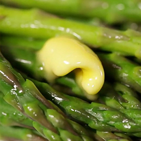 Steam Sauteéd Fresh Asparagus